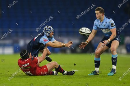 Editorial photo of Cardiff Blues v Scarlets, Guinness PRO14 - 09 Jan 2021