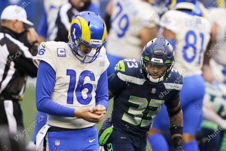 Editorial picture of Rams Seahawks Football, Seattle, United States - 09 Jan 2021