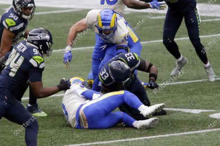 Editorial photo of Rams Seahawks Football, Seattle, United States - 09 Jan 2021