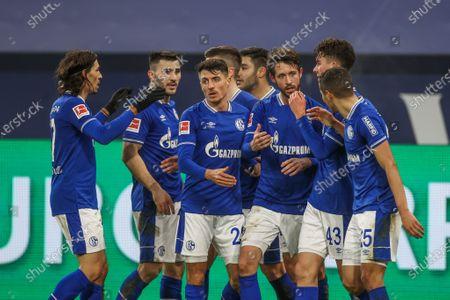 Editorial photo of FC Schalke 04 v TSG 1899 Hoffenheim, Bundesliga, Gelsenkirchen, Germany - 09 Jan 2021
