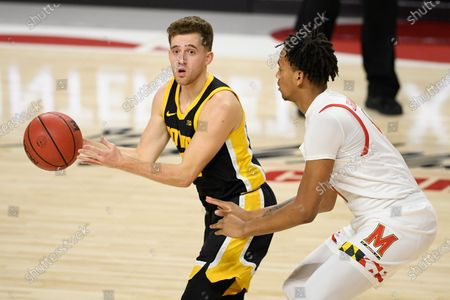 Editorial picture of Iowa Maryland Basketball, College Park, United States - 07 Jan 2021