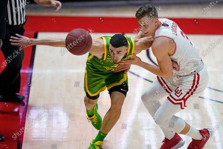 Editorial picture of Oregon Utah Basketball, Salt Lake City, United States - 09 Jan 2021