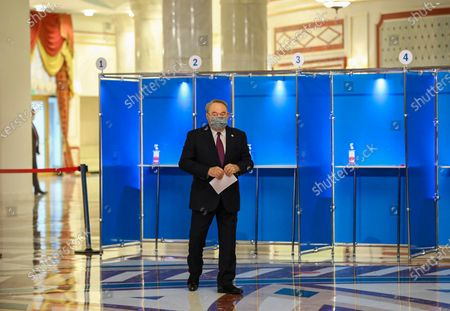 Editorial photo of Kazakhstan's legislative elections to elect the members of Majilis, Nur Sultan - 10 Jan 2021