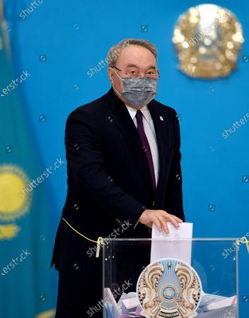 Editorial image of Kazakhstan's legislative elections to elect the members of Majilis, Nur Sultan - 10 Jan 2021