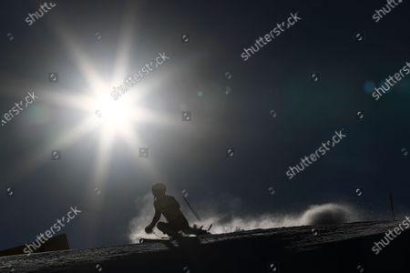 Editorial photo of Alpine Skiing World Cup, Adelboden, Switzerland - 10 Jan 2021