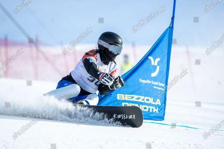 Editorial image of FIS Snowboard Alpin Worldcup, Scuol, Switzerland - 09 Jan 2021
