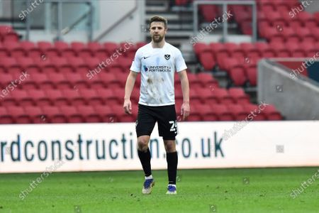 Michael Jacobs (24) of Portsmouth during the The FA Cup match between Bristol City and Portsmouth at Ashton Gate, Bristol