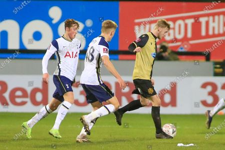 Editorial picture of Marine v Tottenham Hotspur, The FA Cup., Third Round - 10 Jan 2021