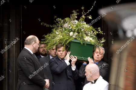 Funeral of Christopher Cazenove
