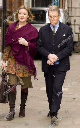 Edward Fox and Joanna David