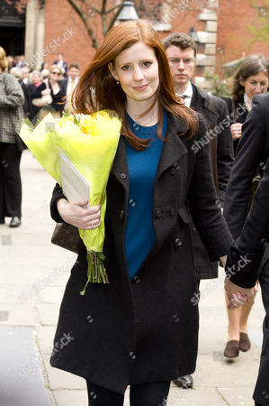Editorial photo of Funeral of Christopher Cazenove, St Pauls Church, Covent Garden. London. Britain - 16 Apr 2010