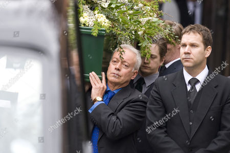 Editorial image of Funeral of Christopher Cazenove, St Pauls Church, Covent Garden. London. Britain - 16 Apr 2010