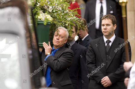 Editorial picture of Funeral of Christopher Cazenove, St Pauls Church, Covent Garden. London. Britain - 16 Apr 2010