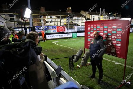 Editorial picture of Soccer FA Cup, Liverpool, United Kingdom - 10 Jan 2021