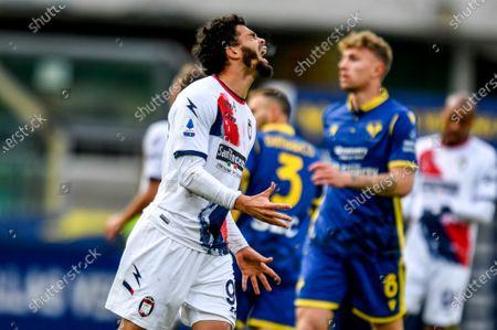 Emmanuel Riviere (FC Crotone) shows his dejection
