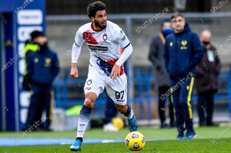 Emmanuel Riviere (FC Crotone) in action