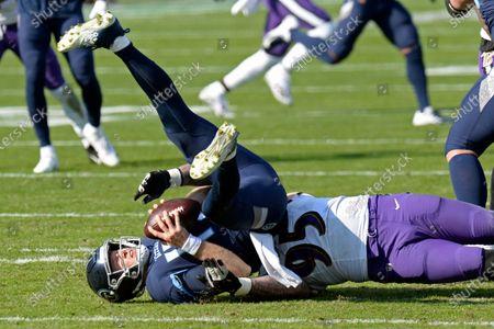 Editorial picture of Ravens Titans Football, Nashville, United States - 10 Jan 2021