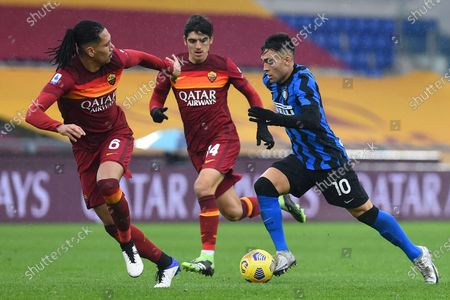 Editorial image of AS Roma v FC Inter, Serie A, Football, Rome, Italy - 10 Jan 2021