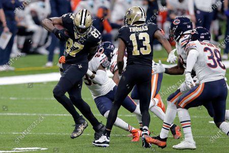 Editorial image of Bears Saints Football, New Orleans, United States - 10 Jan 2021
