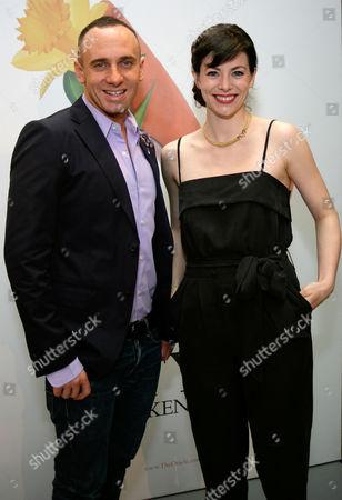 Stock Image of Mark Heyes and Liv Kennard