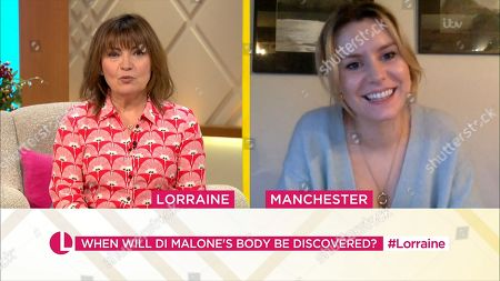 Lorraine Kelly and Olivia Bromley