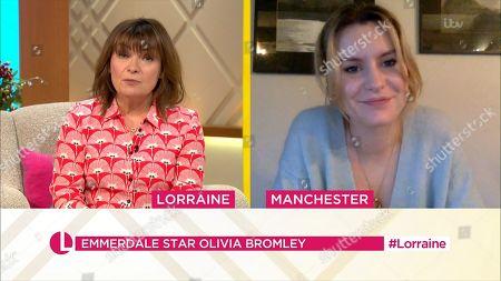 Editorial photo of 'Lorraine' TV Show, London, UK - 11 Jan 2021