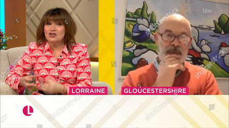 Stock Image of Lorraine Kelly and Keith Allen
