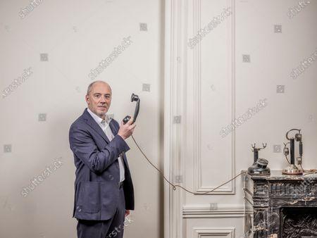Editorial image of Stephane Richard photoshoot, Paris, France - 07 Jan 2021