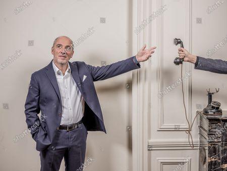 Editorial picture of Stephane Richard photoshoot, Paris, France - 07 Jan 2021