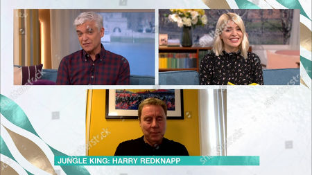 Phillip Schofield, Holly Willoughby and Harry Redknapp