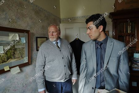 James Cosmo as Bill Bradwell and Taheen Modak as DS Ahemd 'Med' Kharim