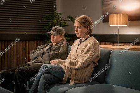 Kelcie Atkinson as Cass Hammond and Julia Haworth as Becky Thrower