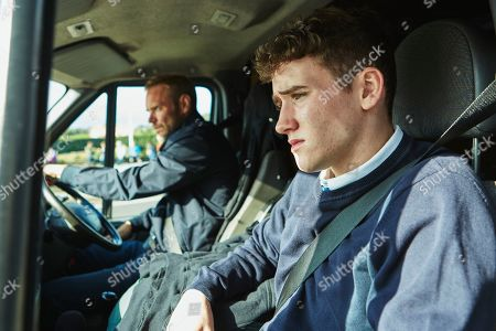 Joe Absolom as Andy Warren and Art Parkinson as Rob Armstrong