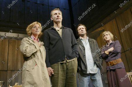 Editorial image of Benefactors Play performed at the Vaudeville THeatre, London, UK - 21 Jun 2002