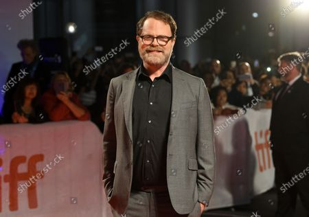 "Actor Rainn Wilson attends the premiere for ""Blackbird"" on day two of the Toronto International Film Festival, in Toronto. Wilson turns 55 on Jan. 20"