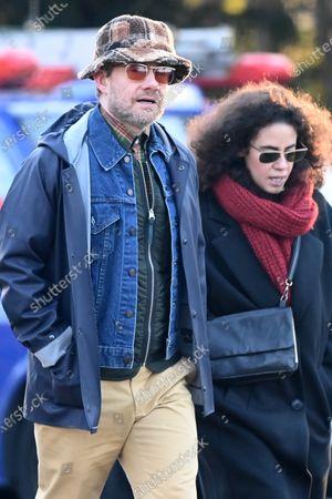 Exclusive - Martin Freeman and Rachel Mariam