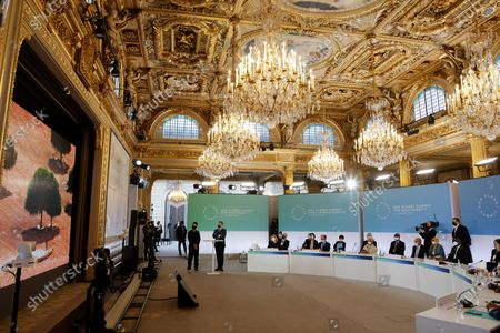 Editorial photo of The One Planet Summit in Paris, France - 11 Jan 2021