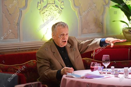 Editorial image of Vladimir Zhirinovsky during a working lunch-meeting, Moscow, Russia - 08 Jan 2021