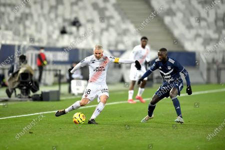 Stock Image of Fabien Lemoine and Youssouf Sabaly