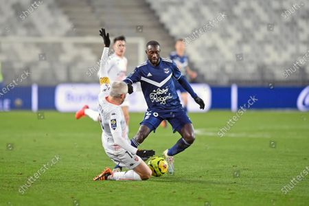 Stock Picture of Youssouf Sabaly and Fabien Lemoine