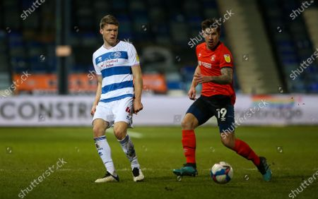 Editorial picture of Luton Town v Queens Park Rangers, EFL Sky Bet Championship, Football, Kenilworth Road, Luton, UK - 12 Jan 2021