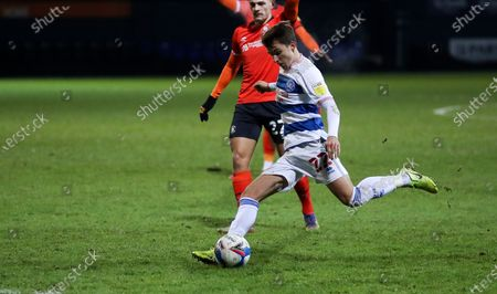 Tom Carroll of QPR  shoots