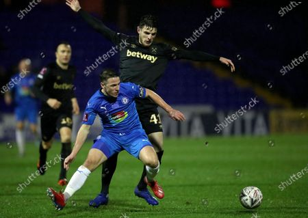 Editorial picture of Soccer FA Cup, Stockport, United Kingdom - 11 Jan 2021