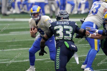 Editorial image of Rams Seahawks Football, Seattle, United States - 09 Jan 2021