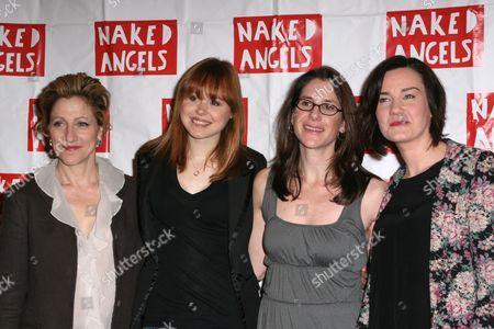 Edie Falco, Alison Pill, Anne Kauffman and Chloe Moss