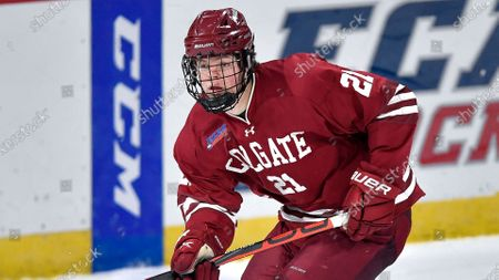 Editorial picture of Colgate Hockey, Canton, United States - 10 Jan 2021
