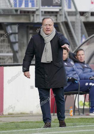 Trainer Dick Advocaat