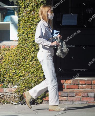 Gillian Jacobs out for a walk
