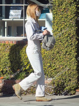 Stock Picture of Gillian Jacobs out for a walk