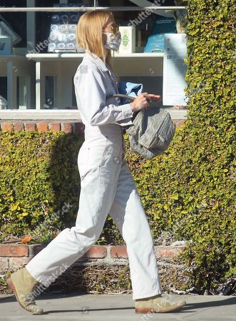 Editorial photo of Gillian Jacobs out and about, Los Angeles, USA - 11 Jan 2021